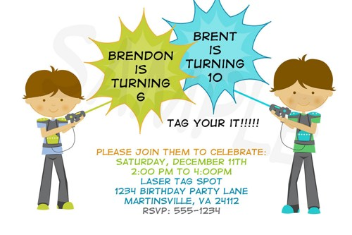 laser tag birthday party invitation template ; laser-tag-birthday-party-invitations-template