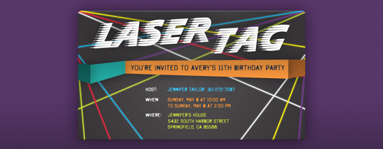 laser tag birthday party invitation template ; laser-tag-invitations-template-usy66bek