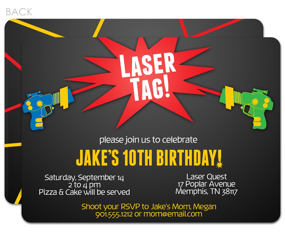 laser tag birthday party invitation template free ; birthday-party-invitation-laser-tag-fresh-laser-tag-birthday-party-invitations-ajordanscart-com