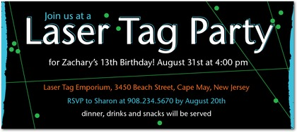 laser tag birthday party invitation template free ; laser-tag-party-invitations-template-free-to-bring-more-colors-on-your-foxy-Party-invitations-20
