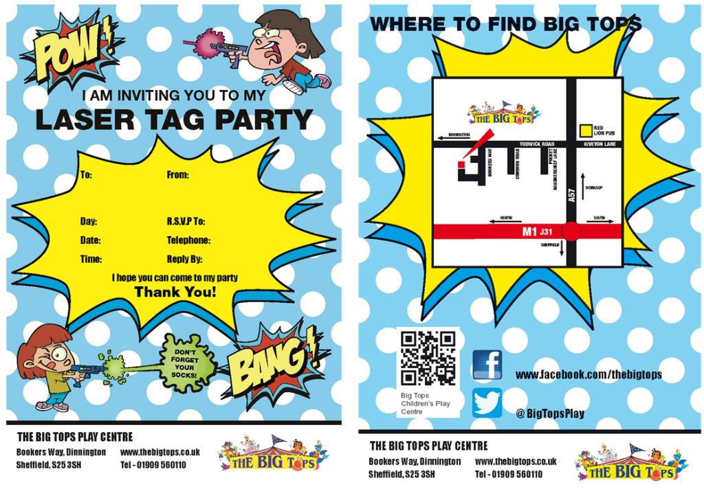 laser tag birthday party invitations free ; Laser-Tag-Invite