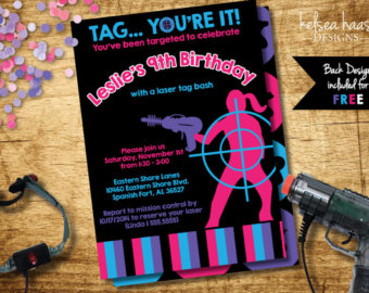 laser tag birthday party invitations free ; il_340x270