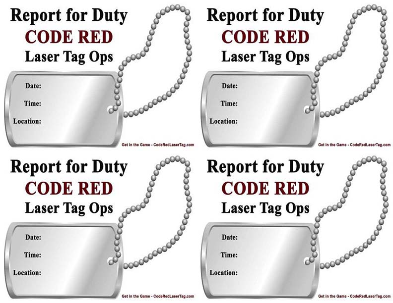 laser tag birthday party invitations free ; invitations-dog-tags-4