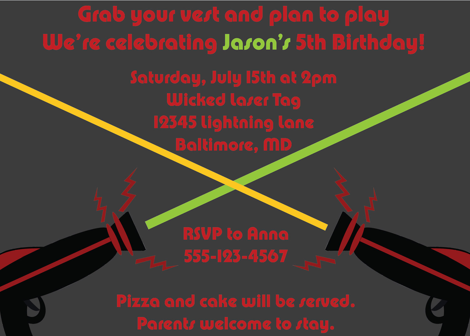 laser tag birthday party invitations free ; laser_tag_4