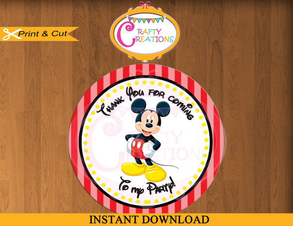 mickey mouse birthday gift tags printable ; bc36b23944fc11533c22856d443d4365