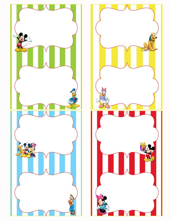 mickey mouse birthday gift tags printable ; bf5ed5f42f22decb852eed309a8856af
