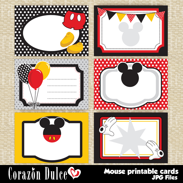 mickey mouse birthday gift tags printable ; bfe27c807c2a685f6c2ac640d9220481