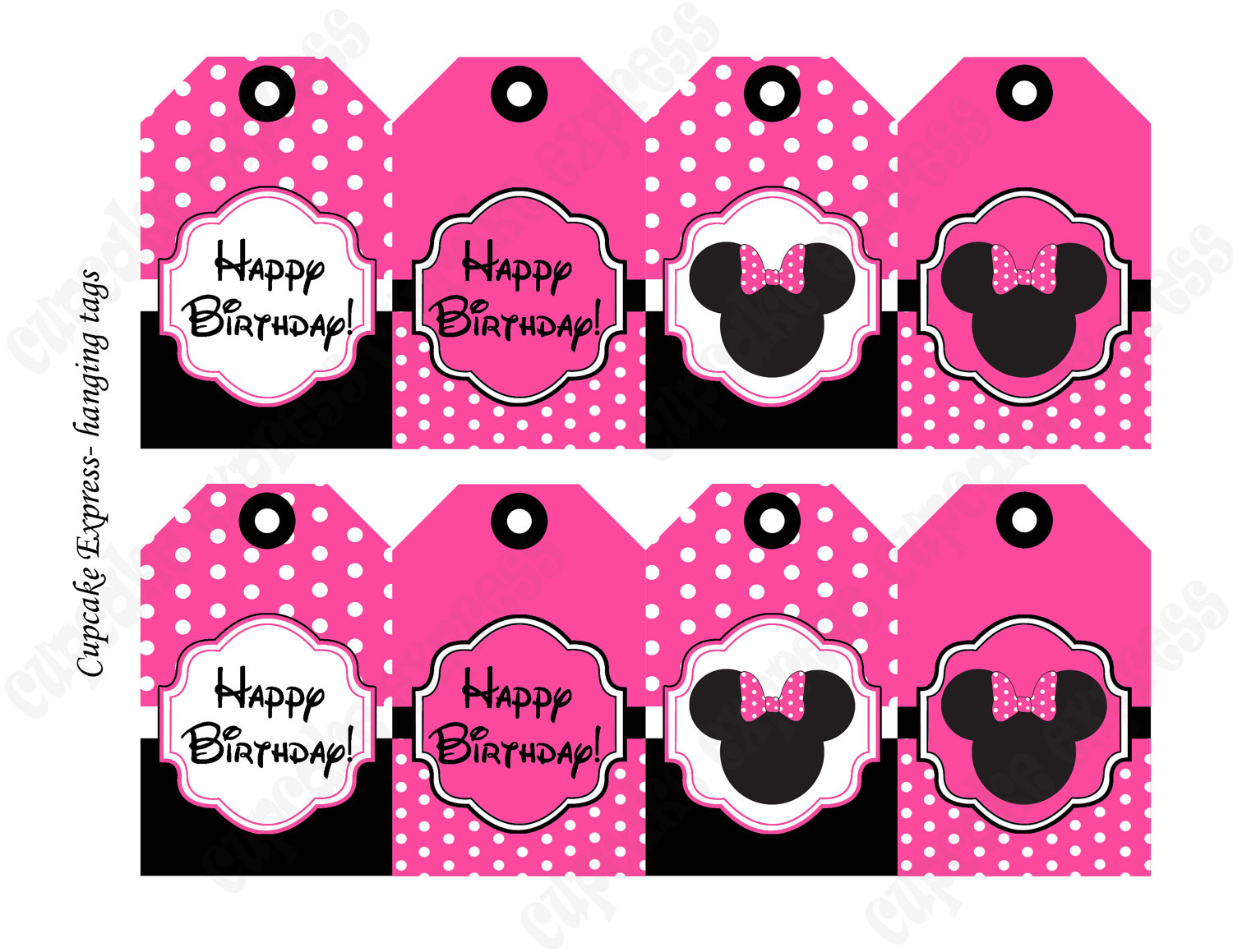 mickey mouse birthday gift tags printable ; ccc549df7397aea17f467e645f867f35