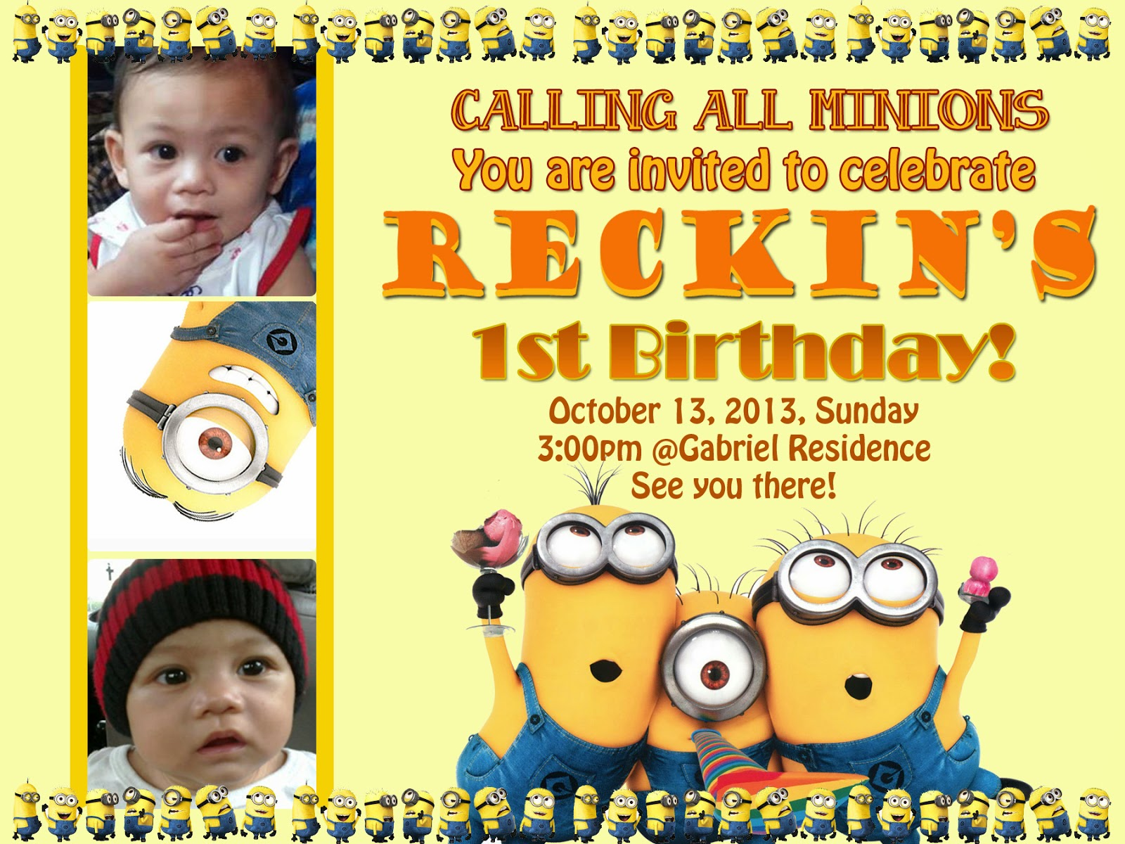 minion themed birthday invitation template ; Minion-Birthday-Party-Invitations-Templates-is-outstanding-ideas-which-can-be-applied-into-your-birthday-Invitation-18