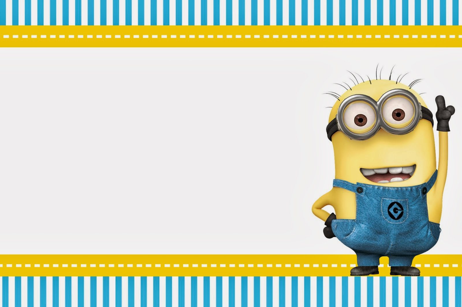minion themed birthday invitation template ; Minions-Invitations-and-get-inspiration-to-make-amazing-invitations-template