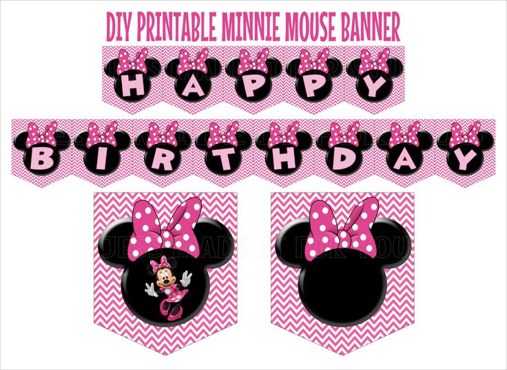 minnie mouse birthday sign printable ; 38266ce9006dc3fb38157e970e05e942--pink-birthday-birthday-banners