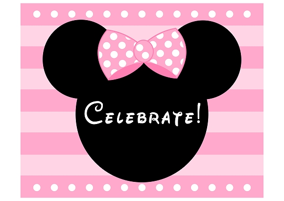 minnie mouse birthday sign printable ; minniesign