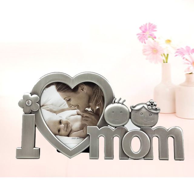 mother birthday photo frame ; New-Fashion-Classic-Photo-frame-MOM-birthday-gift-Lovely-baby-DIY-Picture-frame-Mother-s-day