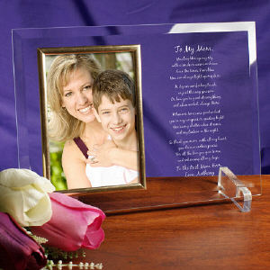 mother birthday photo frame ; Personalized-Mothers-Day-Frame---Beveled-Glass-Picture-Frame_8520118bLM