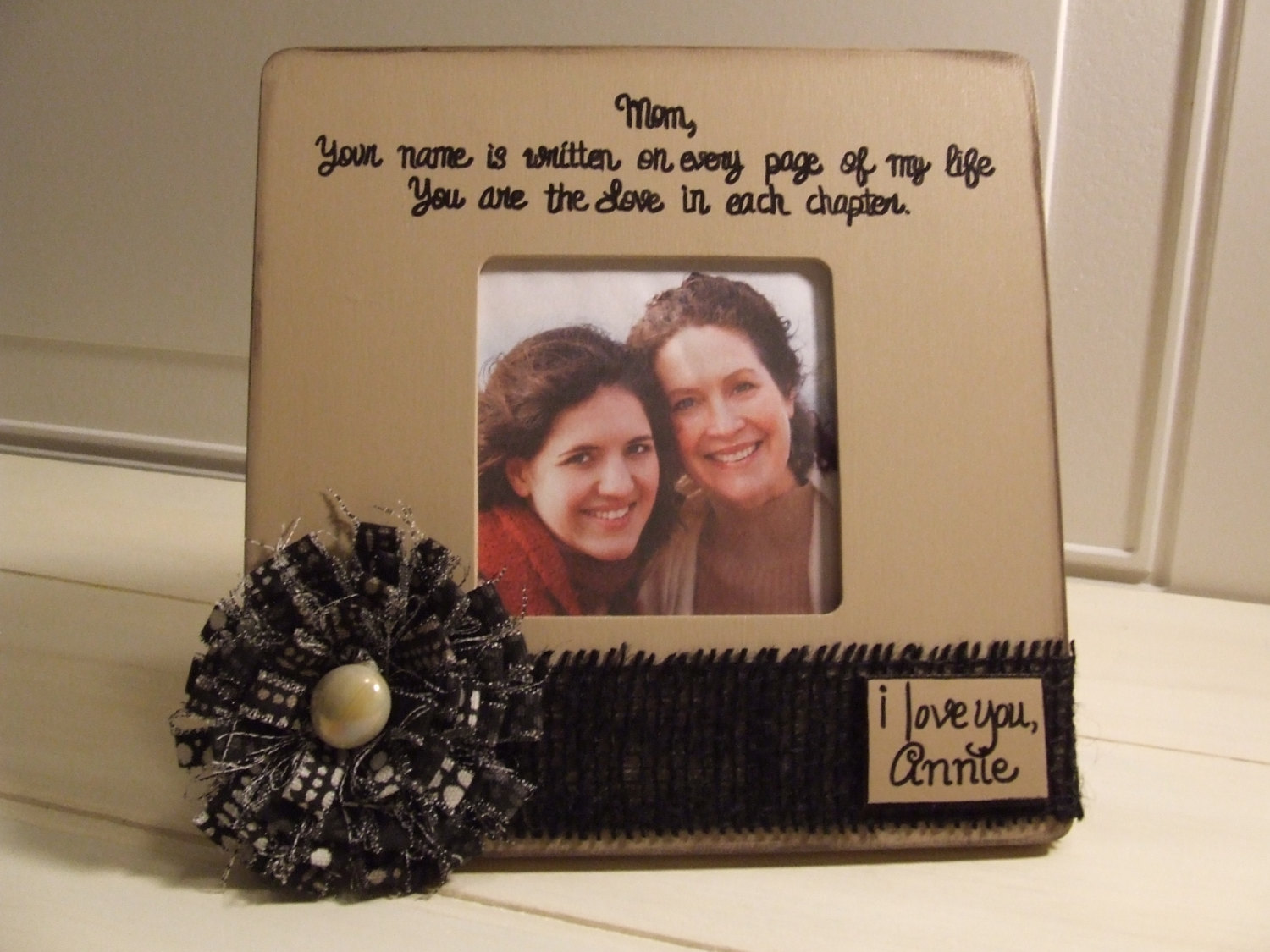 mother birthday photo frame ; il_fullxfull