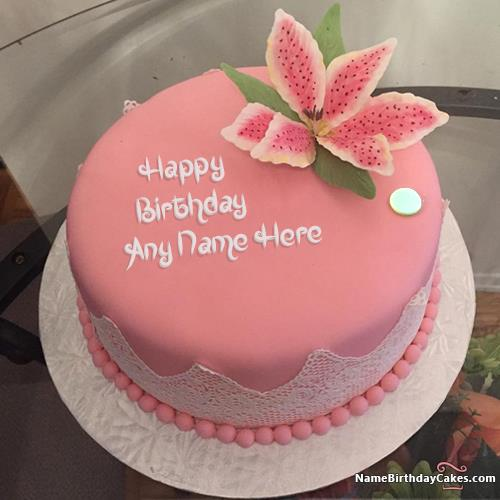 name birthday cake with photo ; best-strawberry-cake-for-happy-birthday-with-name-f142