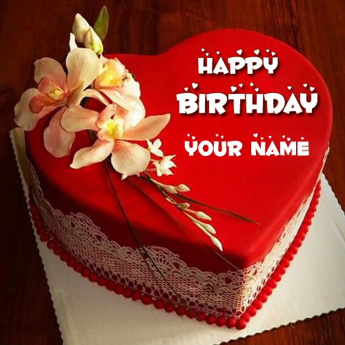 name birthday cake with photo ; happy-birthday-red-heart-love-cake-pic-with-your-name-birthday-cake-pic-with-name-pooja