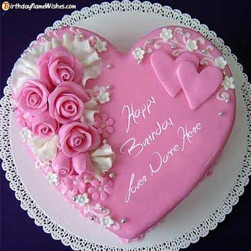 name birthday cake with photo ; roses-birthday-cake-for-lover-images-with-name-4c55