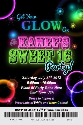 neon colored birthday invitations ; 9b199fb99fa5e1bde07aeebbfc641433