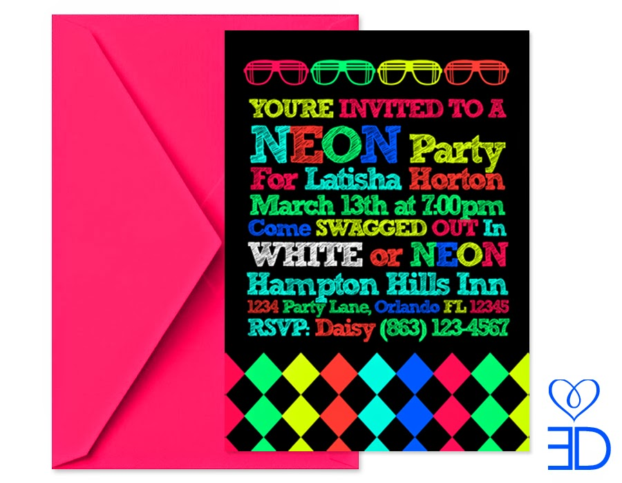 neon colored birthday invitations ; Neon-Party-Invitations-should-be-best-ideas-for-your-invitations-templates