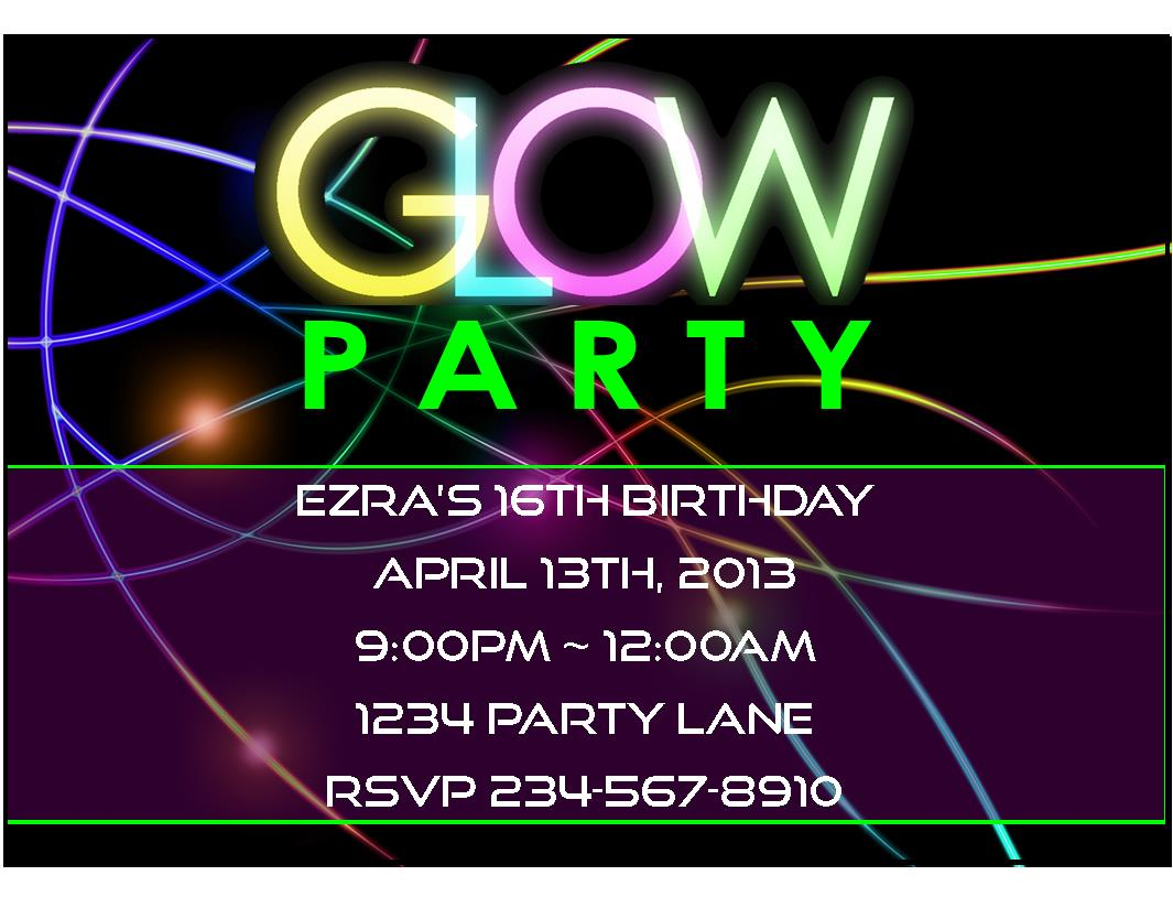 neon colored birthday invitations ; a5ea3e65bff08515c3b334e2f18781b2