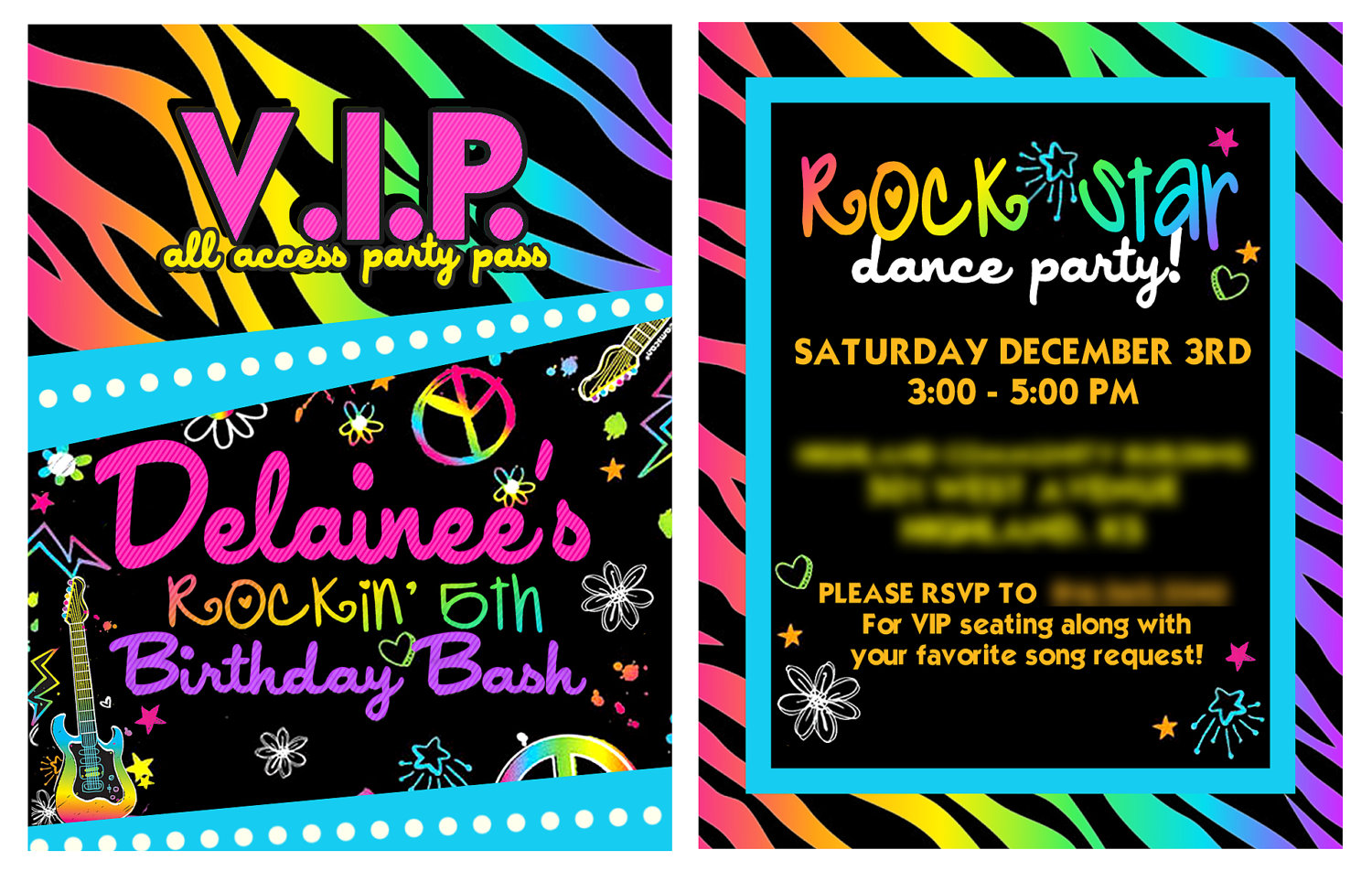 neon colored birthday invitations ; neon-birthday-party-invitations-And-then-ideas-Birthday-Invitations-unique-fesselnd-and-great-ideas-17