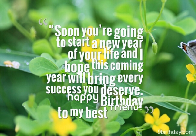 new year birthday wish message ; Soon-youre-going-to-start-a-new-year-of-your-life-and-i-hope-this-coming-year-will-bring-every-success-you-deserve-happy-birthday-to-my-best-friend