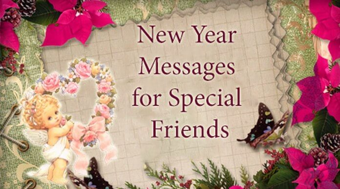 new year birthday wish message ; special-friends-new-year-messages