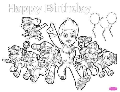 paw patrol birthday coloring sheets ; 500xNxpaw-patrol-coloring-page
