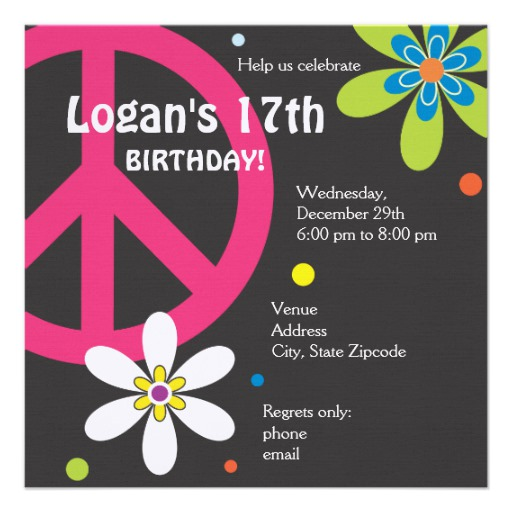 peace sign birthday invitation templates ; peace_sign_birthday_invitation_teen-r7308404b0bcf4447ba03795e3014e1c8_imtrt_8byvr_512