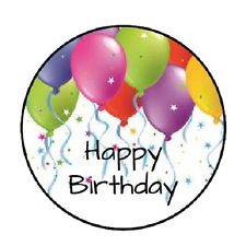 personalized birthday labels stickers ; s-l225