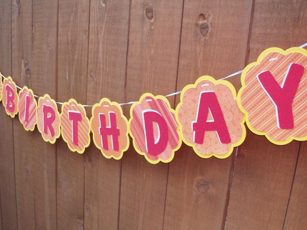 personalized birthday signs banners ; il_430xN