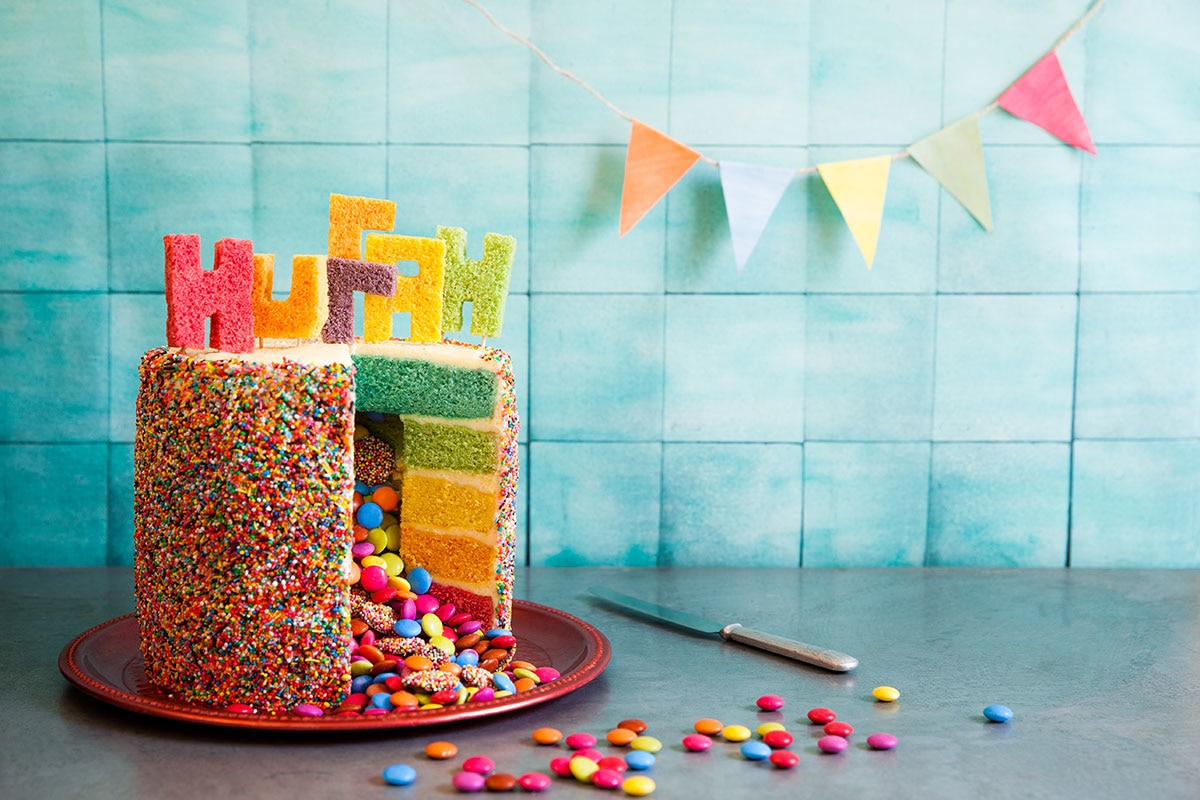 picture birthday cake images ; rainbow-pinata-birthday-cake