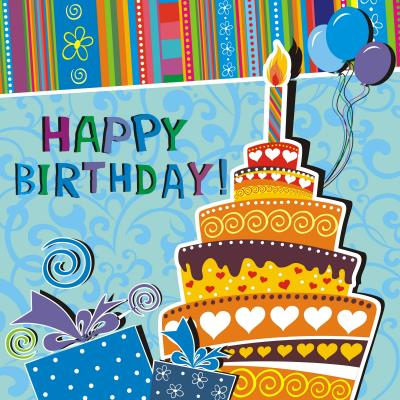 pictures of birthday greeting cards ; birthday-cake