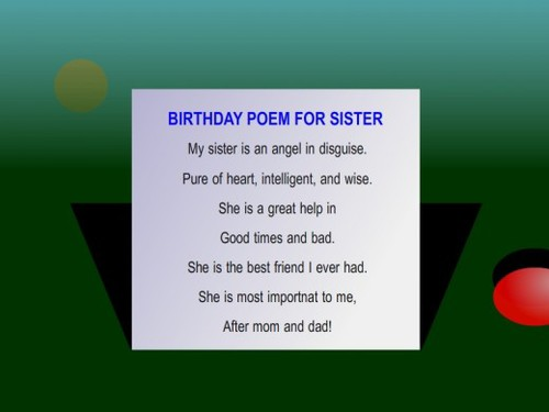 poem birthday wishes for sister ; large