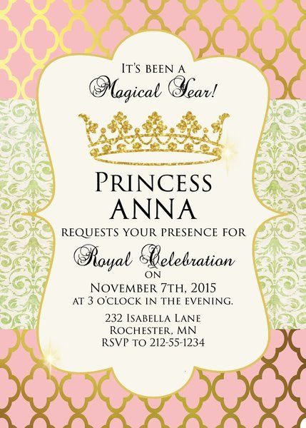 princess themed birthday invitation cards ; birthday-invitation-princess-theme-best-25-princess-party-invitations-ideas-on-pinterest-princess
