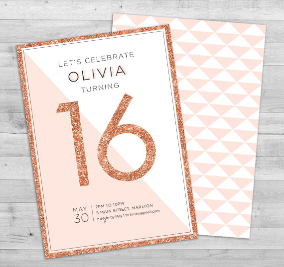 printable 16th birthday invitation templates ; 56704e7c8591574995fa0fa96ad8175f
