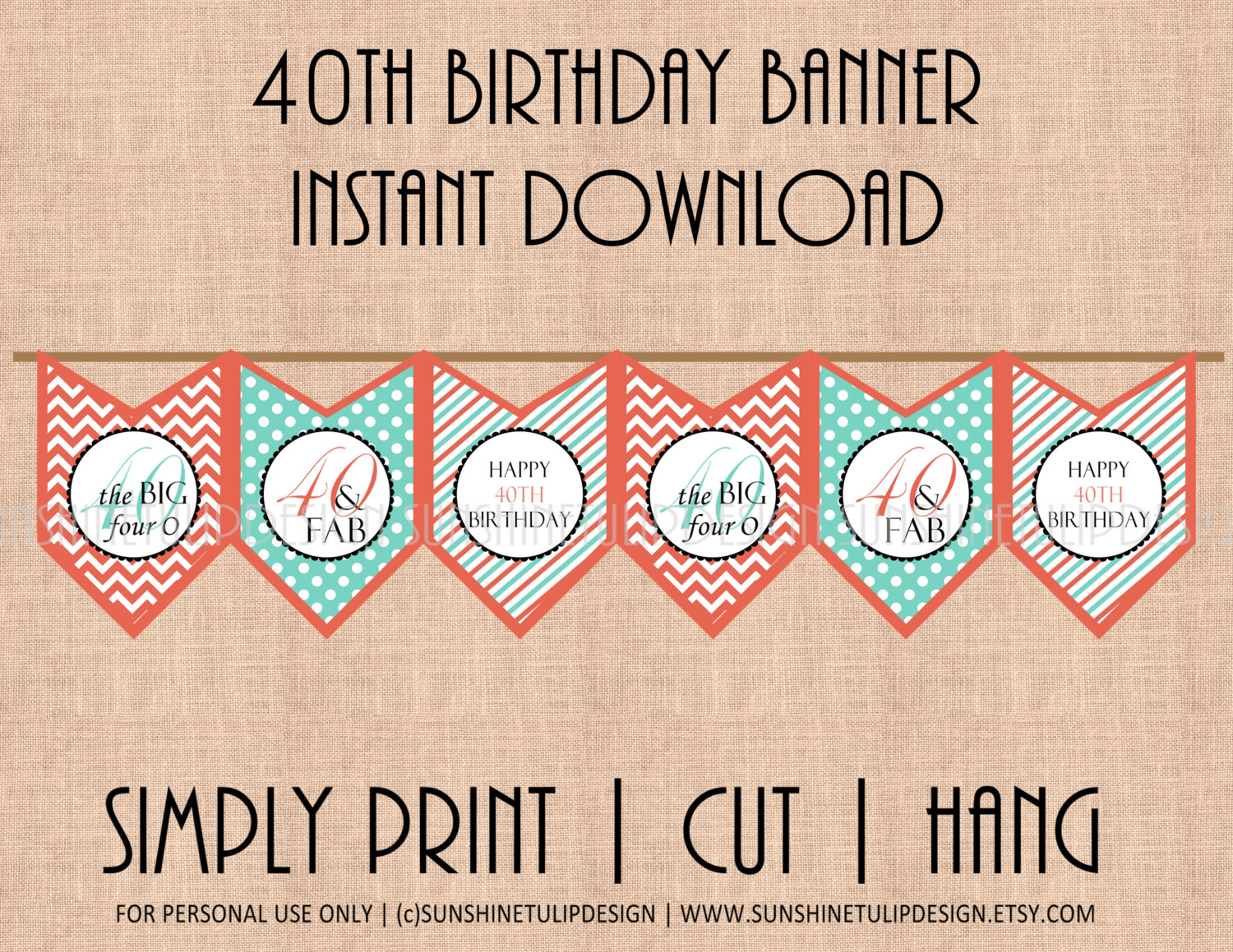 printable 60th birthday signs ; il_fullxfull