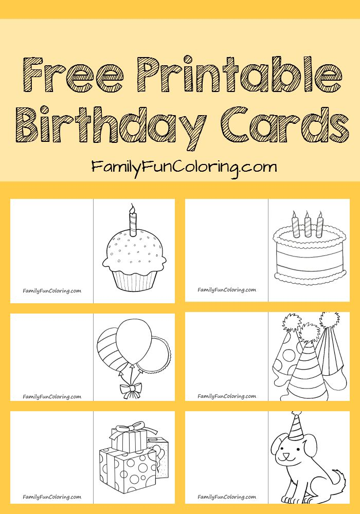 printable birthday cards free no sign up ; free-cards-for-kids-best-25-printable-birthday-cards-ideas-on-pinterest-free-colour-by-number-pictures