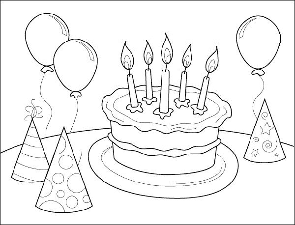 printable birthday coloring sheets ; birthday-coloring-pages-disney-20080