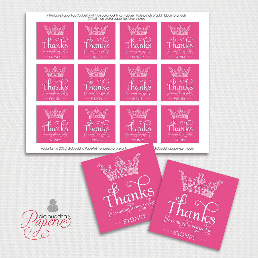 printable birthday favor tags ; il_fullxfull