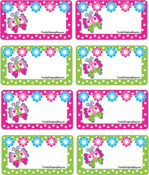 printable birthday gift tags ; Butterfly_Gift_Tags_006982