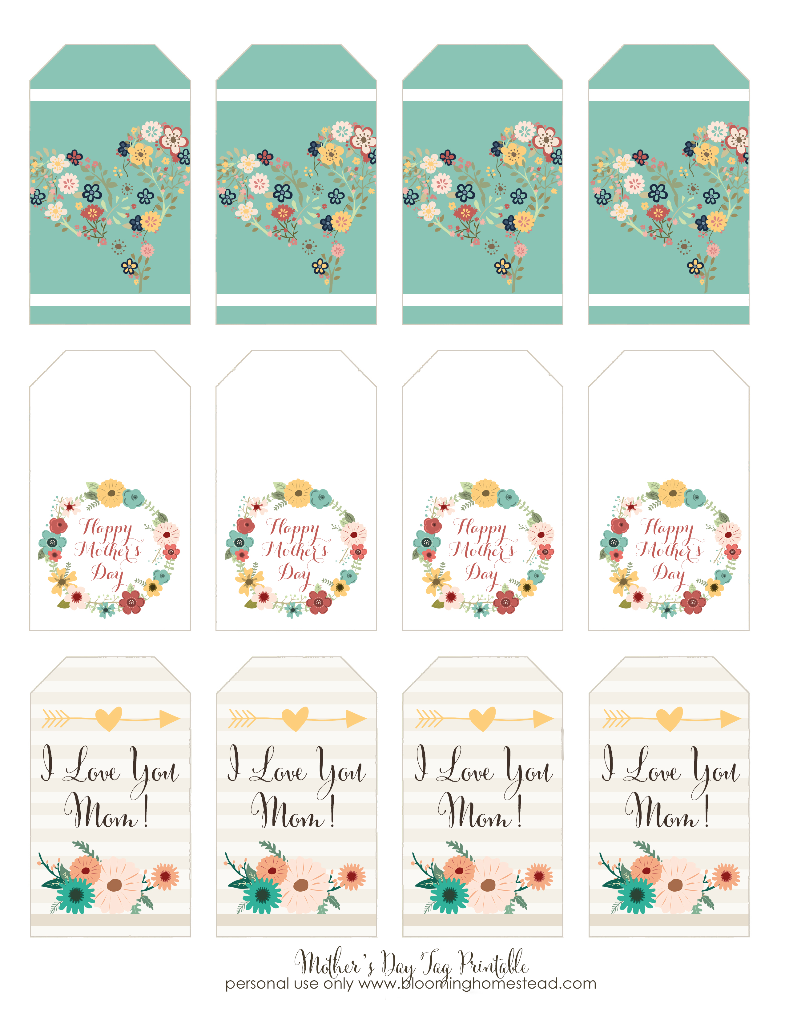 printable birthday gift tags ; Mothers-Day-Gift-Tags
