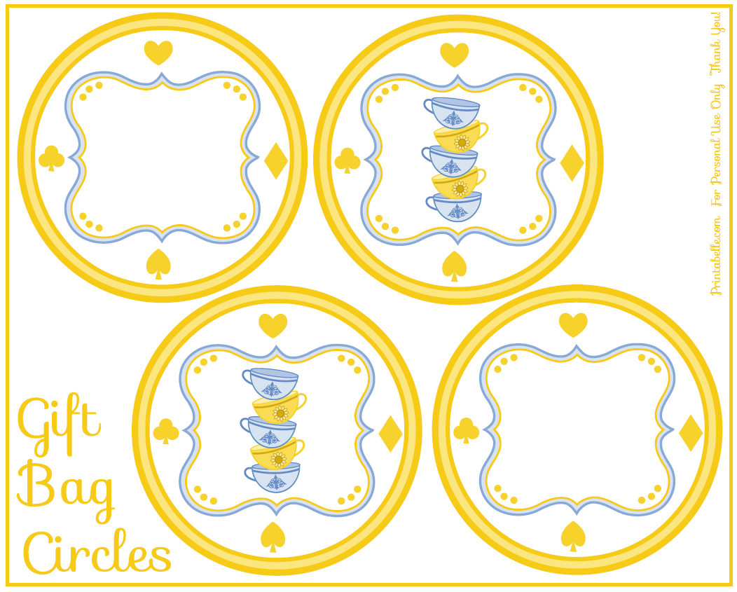 printable birthday gift tags free ; free-prntable-alice-in-wonderland-birthday-party-gift-tags