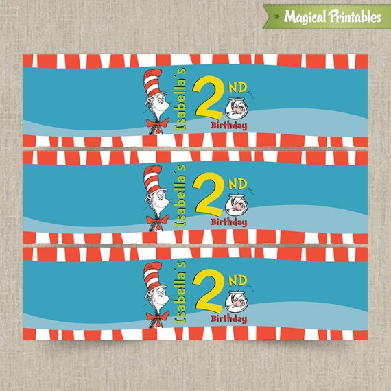 printable birthday labels ; Cat-in-the-Hat-Bottle-Label3-570x570