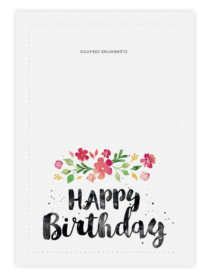 printable birthday poster ; cbe76718f5bd10e39dedd18880674910--printable-birthday-cards-spring-blossom