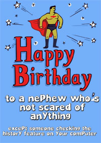 printable birthday quotes ; nephew-birthday-card-printable