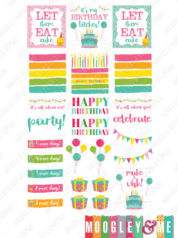 printable birthday stickers ; a686e00672eb95d4f9eae8a5795b39ac