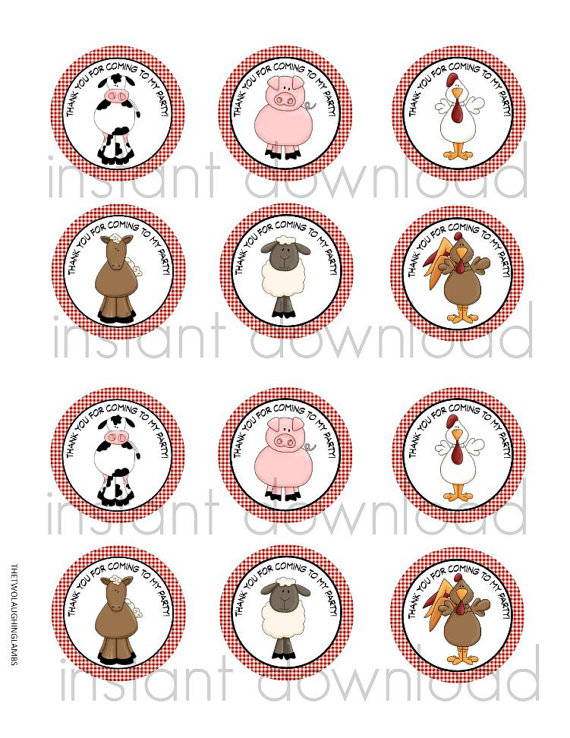 printable birthday stickers ; il_570xN