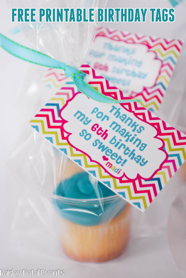 printable birthday tags ; birthday-cupcakes-tags